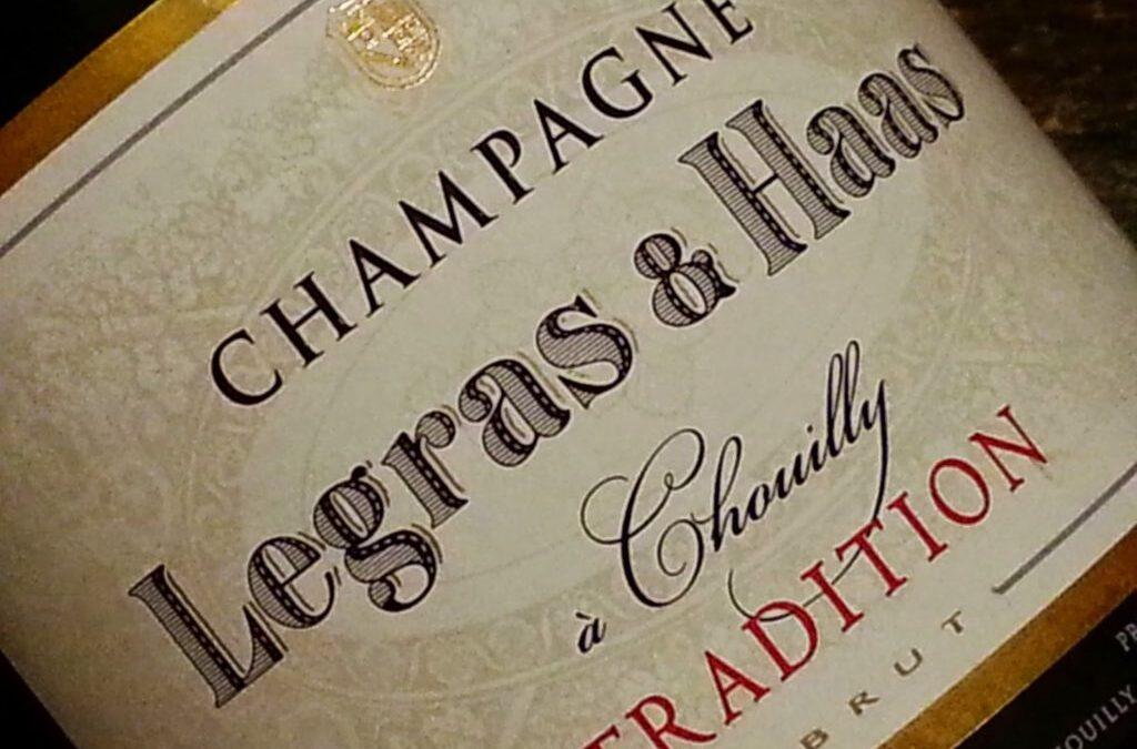 Champagne Legras e Haas Tradition